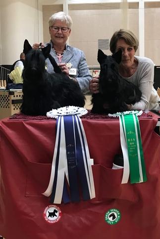 two happy winners